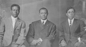 Dr. Charles Thomas (center)